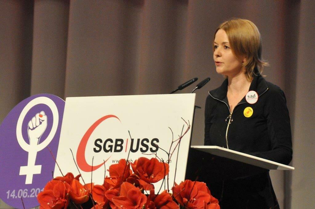 Fotos vom SGB-Kongress   Photos du congrès de l'USS
