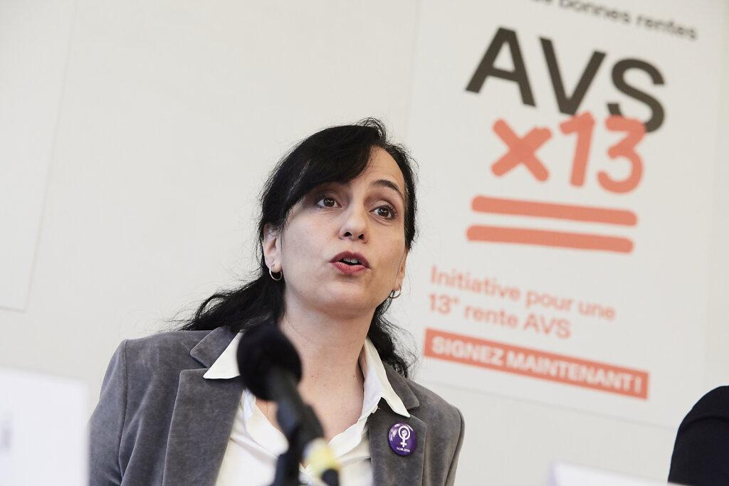 Lancierung «AHVx13»   Lancement « AVSx13